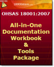 OHSAS 18001 All In One Documentation, Workbook & Tools Package