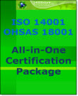 ISO 14001-18001 All in One Certification Package