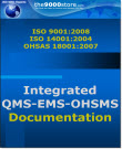 ISO 9001-14001-OHSAS-18001 IMS Documentation Package
