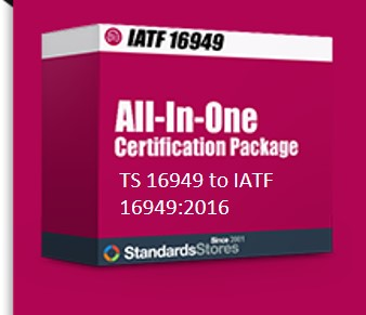 16949:2009 to 2016 All-in-One Documentation and Training Transition Package (2009>>2016)