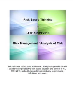 16949:2016 Risk Management Exercise