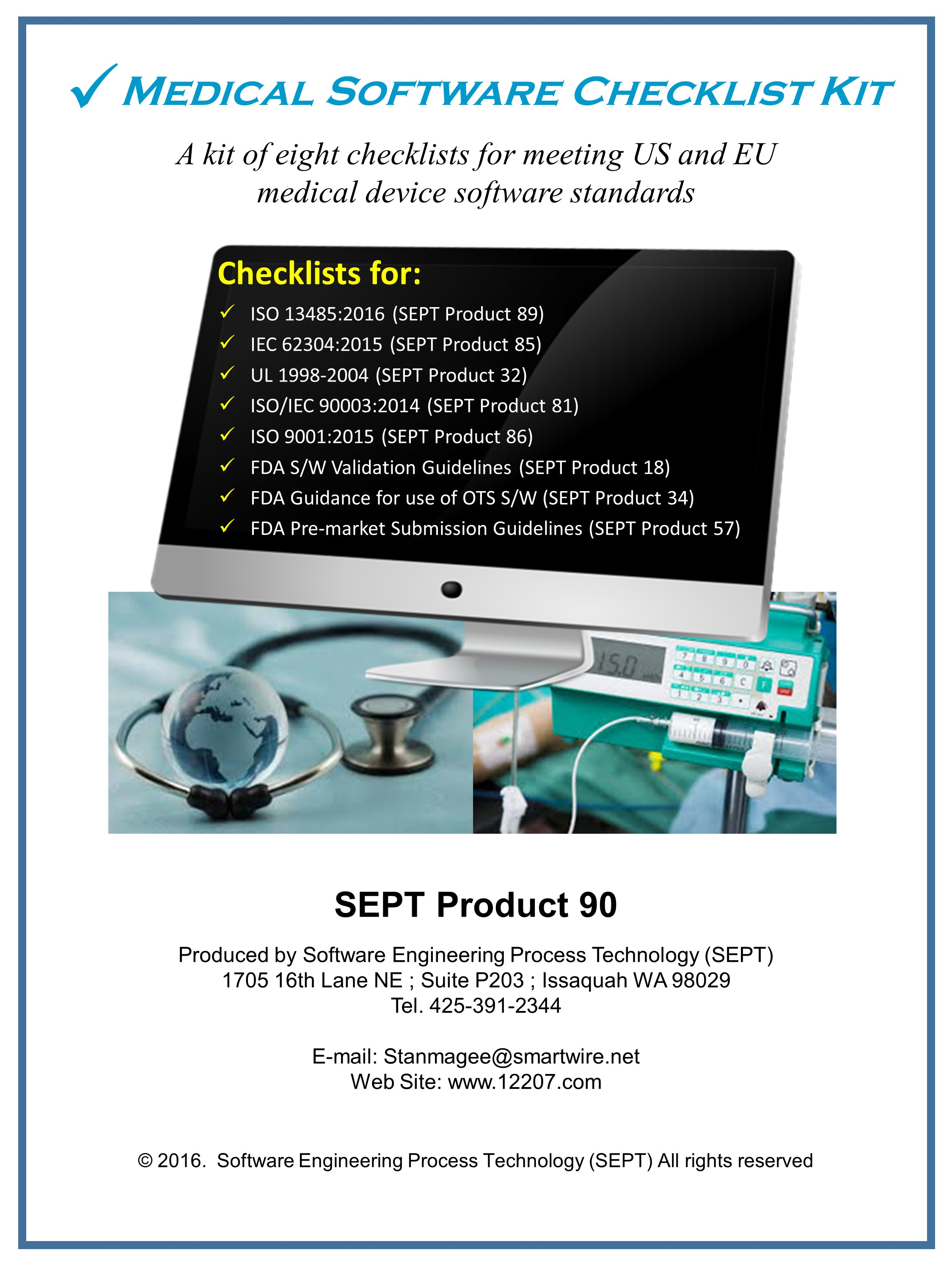 Medical Software Checklist Kit
