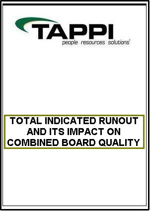 TOTAL INDICATED RUNOUT AND ITS IMPACT ON COMBINED BOARD QUALITY
