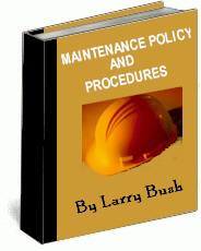 Maintenance Policy and Procedures Manual